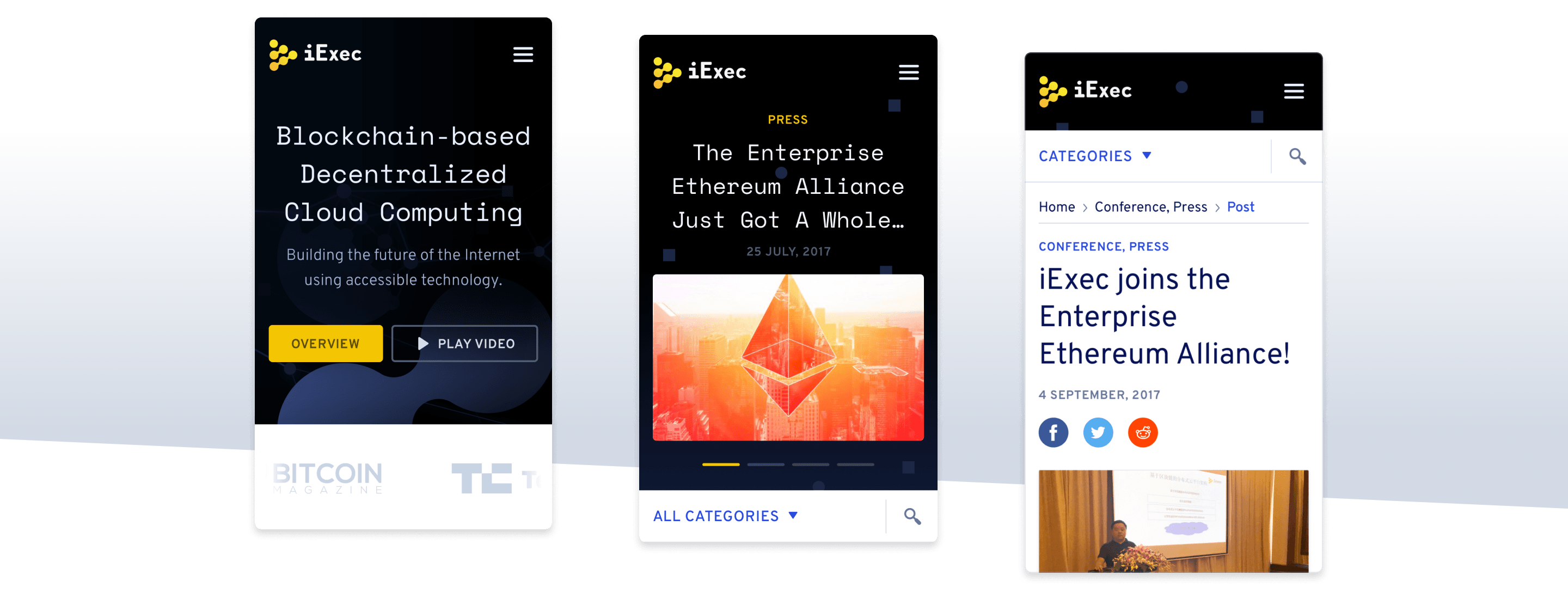 iExec Enterprise alliance cloud