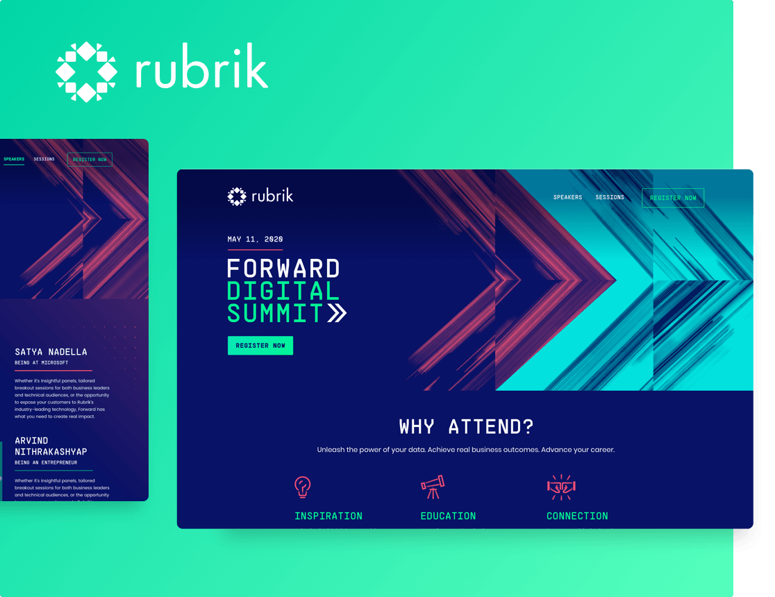 Rubrik Forward Digital Summit Case Study
