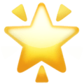 lowing Star emoji